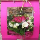 bouquet coffret tons de rose