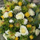 coussin-de-fleurs-jaune-et-blanc